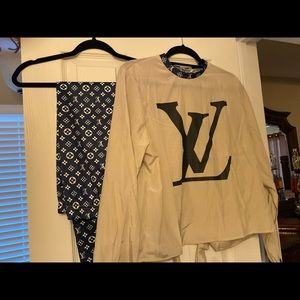 Beautiful New LV Outfit